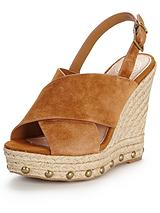 March Suede Espadrille Wedge