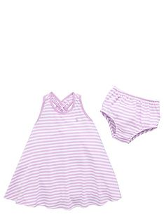 polo-ralph-lauren-babynbspgirls-stripe-dress-and-briefs-set