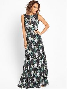 myleene-klass-pleat-floral-maxi-dress