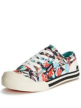 Jazzin Floral Canvas Shoe