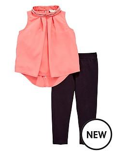 river-island-mini-girls-sequin-collar-top-and-leggings-set