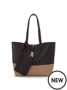 oasis-colour-block-tote-bag