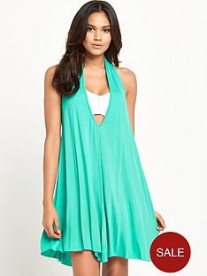 v-by-very-jersey-halter-neck-beach-dress