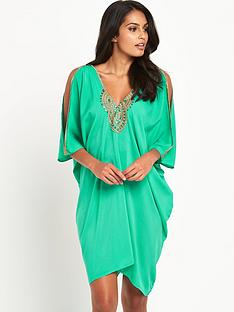 v-by-very-embellished-oversized-batwingnbspbeach-dress