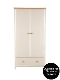 cotswold-2-door-1-drawer-kids-wardrobe