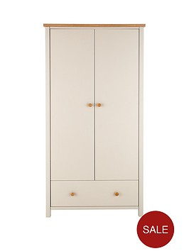 cotswold-2-door-1-drawer-kids-wardrobe