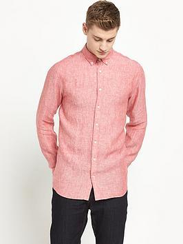 tommy-hilfiger-linen-chambray-mens-shirt