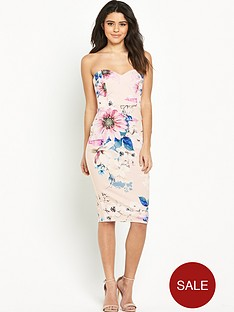 lipsy-floral-bandeau-bodycon-dress
