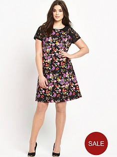 so-fabulous-lace-sleeve-floral-print-dress