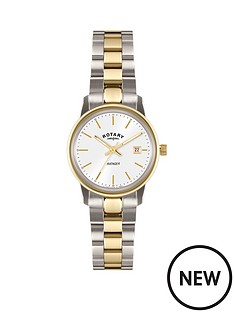 rotary-white-date-dial-two-tone-gold-plated-bracelet-ladies-watch