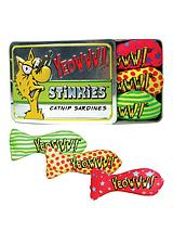 Tin Of Stinkies Organic Catnip Toy - 3 Pack