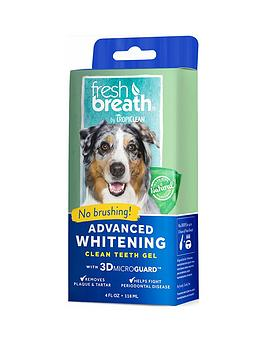 Rosewood Tropiclean Advanced Whitening &039NoBrush&039 Fresh Breath &Amp Teeth Clean Gel Kit 118Ml