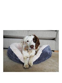 rosewood-grey-jumbo-cord-amp-cream-plush-bed-32inch