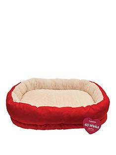 rosewood-red-amp-cream-orthopaedic-bed-26-inch
