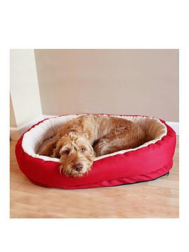 rosewood-red-amp-creamnbsporthopaedic-bed-34-inch