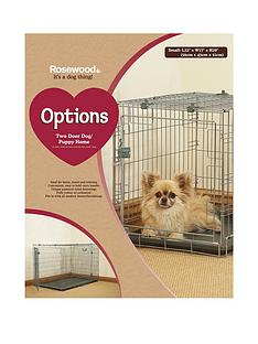 rosewood-two-door-dog-amp-puppy-home-small-56-x-43-x-51cm