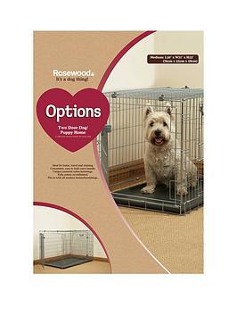 rosewood-two-door-dog-amp-puppy-home-medium-76-x-52-x-58cm