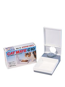 rosewood-cat-mate-c10-single-meal-feeder