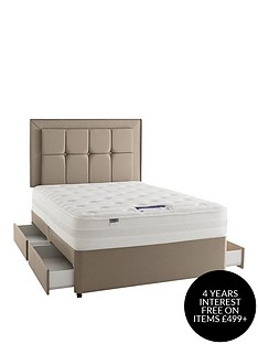 silentnight-mirapocketnbsppaige-1400-pocket-orthonbspdivan-with-optional-storage-and-half-price-headboard-offer-buy-and-save