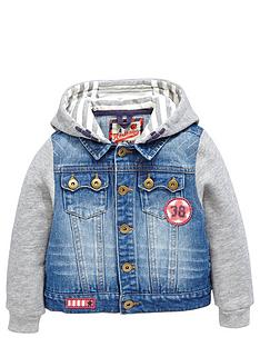 ladybird-boys-jersey-sleeved-denim-jacket