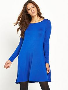v-by-very-basic-jersey-swing-dress
