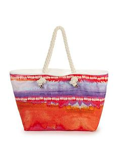 ombre-print-beach-bag
