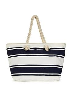 nautical-stripe-beach-bag