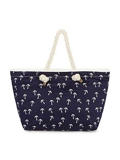 anchor-print-beach-bag