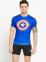 Under Armour Mens Captain America Compression top