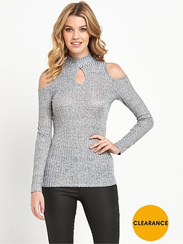 v-by-very-long-sleeve-keyhole-ribbed-cold-shoulder-topnbsp