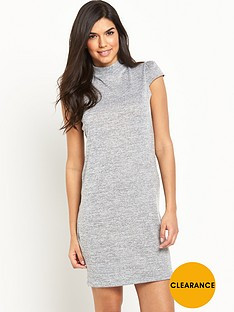 v-by-very-cap-sleeve-fine-knit-tunic-dress