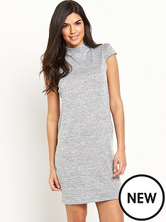 v-by-very-cap-sleeve-fine-knit-tunic-dress