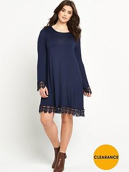 v-by-very-curve-crochet-lace-hem-and-cuff-jersey-tunic-dress