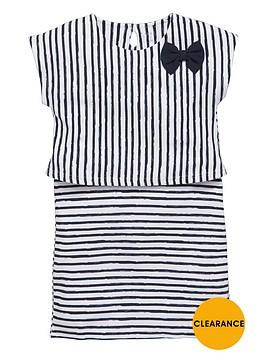 name-it-girls-stripe-bow-dress