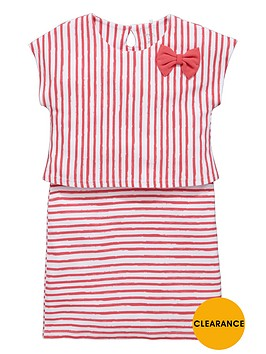 name-it-girls-stripe-bow-dress