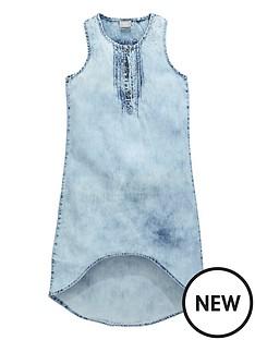 name-it-girls-denim-dip-hem-maxi-dress