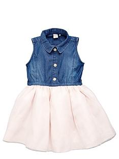 name-it-girls-denim-tulle-dress
