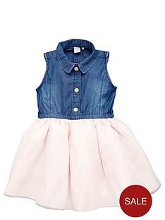 name-it-girls-denim-tulle-dress