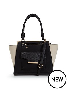 miss-selfridge-monochrome-tote-bag
