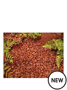 red-chippings