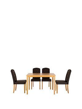 primo-dining-table-4-quilted-effect-dining-chairs-buy-and-save