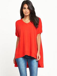 v-by-very-v-neck-short-sleeve-trapeze-jumpernbsp