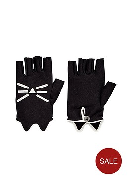 karl-lagerfeld-girls-choupette-fingerless-gloves