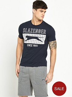 slazenger-short-sleeve-printed-t-shirt