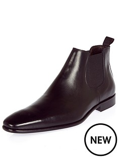 river-island-smart-leather-mens-chelsea-boots-brown