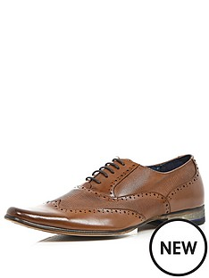 river-island-mens-leather-panelled-brogue
