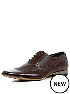 river-island-mens-leather-panelled-lace-up-formal-shoe