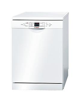 Bosch Sms58M42Gb Activewater 14Place Dishwasher  White