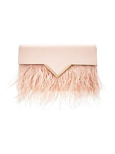 feather-trim-clutch