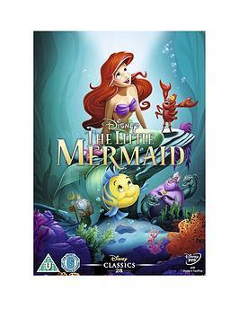 Disney The Little Mermaid (1989) Dvd